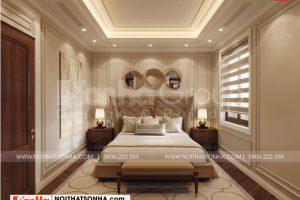 5 Mẫu nội thất phòng ngủ master biệt thự tân cổ điển tại quảng ninh