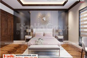 6 Bố trí nội thất phòng ngủ con gái đẹp tại khu đô thị waterfront hải phòng wfc 008