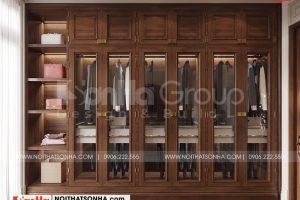 6 Không gian nội thất thay đồ phòng ngủ master cao cấp tại quảng ninh