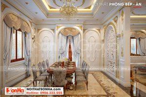 6 Thiết kế nội thất phòng ăn sang trọng tại vĩnh long sh btp 0145