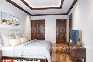 7 Trang trí nội thất phòng ngủ khách cao cấp tại khu đô thị waterfront hải phòng wfc 008