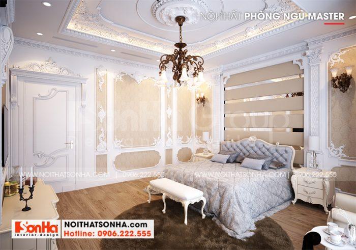 Ý tưởng trang trí nội thất phòng ngủ master đẹp và sang dành cho vợ chồng gia chủ