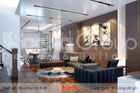 BÌA nội thất nhà phố liền kề kết hợp văn phòng tại khu đô thị waterfront hải phòng wfc 008