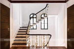 11 Mẫu nội thất sảnh thang biệt thự tân cổ điển tại khu đô thị vinhomes imperia hải phòng