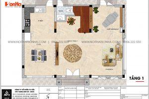 12 Bản vẽ tầng 1 biệt thự kiểu tân cổ điển đẹp tại vinhomes imperia hải phòng