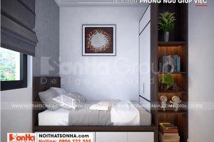 12 Thiết kế nội thất phòng ngủ giúp việc đẹp tại khu đô thị vinhomes imperia hải phòng