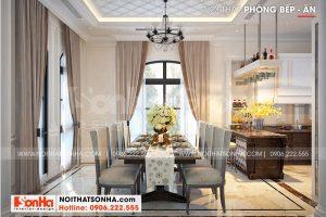 2 Thiết kế nội thất phòng ăn đẹp tại khu đô thị vinhomes imperia hải phòng