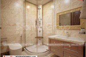 21 Không gian nội thất phòng tắm wc kiểu cổ điển tại long an sh btld 0041