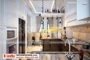 3 Trang trí nội thất phòng bếp sang trọng tại khu đô thị vinhomes imperia hải phòng