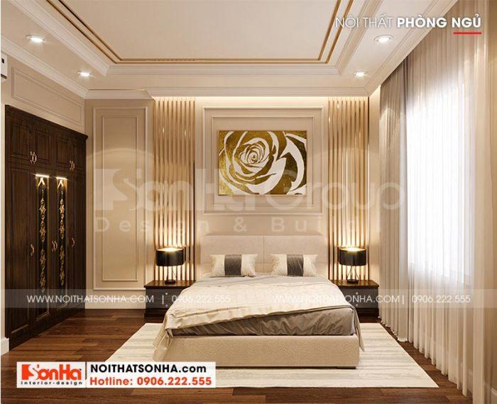 Ý tưởng thiết kế nội thất phòng ngủ biệt thự tân cổ điển Theo xu hướng thịnh hành nhất hiện nay