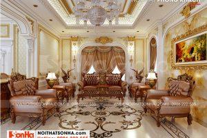 7 Trang trí nội thất phòng khách cao cấp tại long an sh btld 0041