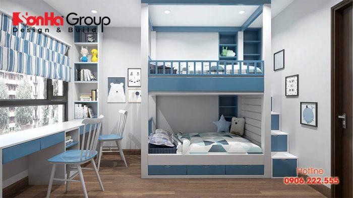 Cách bố trí nội thất phòng ngủ bé trai đẹp, khoa học mà bạn có thể tham khảo
