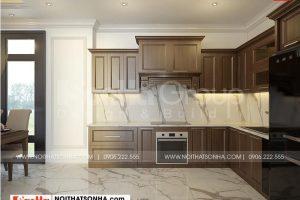 3 Trang trí nội thất phòng bếp ăn đẹp tại vinhomes marina