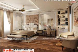 13 Mẫu nội thất phòng ngủ master sang trọng tại hà nội sh btp 0151