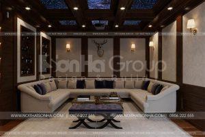 14 Không gian nội thất phòng rượu kiểu tân cổ điển tại hà nội sh btp 0151