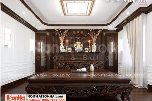 16 Bố trí nội thất phòng thờ tôn nghiêm tại hà nội sh btp 0151