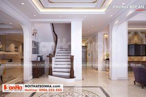 7 Thiết kế nội thất sảnh thang kiểu tân cổ điển tại hà nội sh btp 0151
