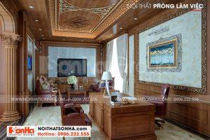 6 Thiết kế nội thất phòng làm việc tiện ích sh btp 0149