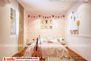 9 Trang trí nội thất phòng ngủ con gái nữ tính tại sài gòn sh nod 0222