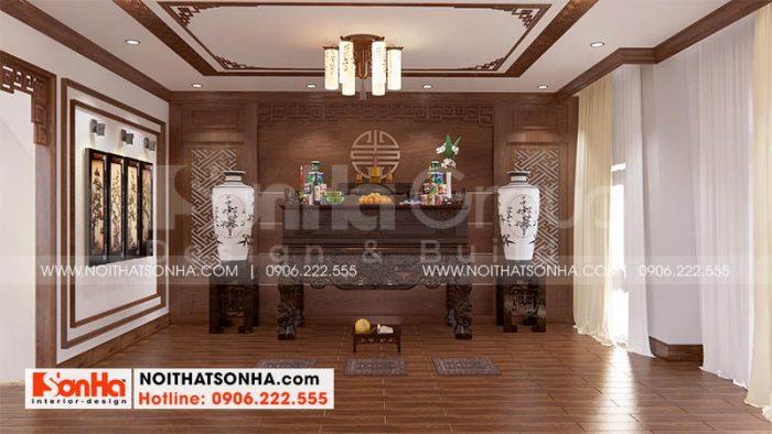 Bố trí không gian phòng thờ tôn nghiêm tại Hoàng Huy Mall Hải Phòng