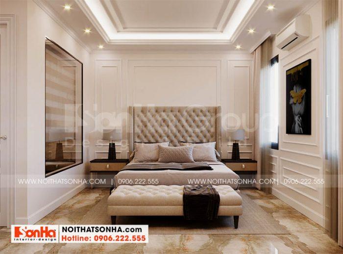Thiết kế nội thất phòng ngủ 2 kiểu hiện đại tại Hoang Huy Mall Hải Phòng