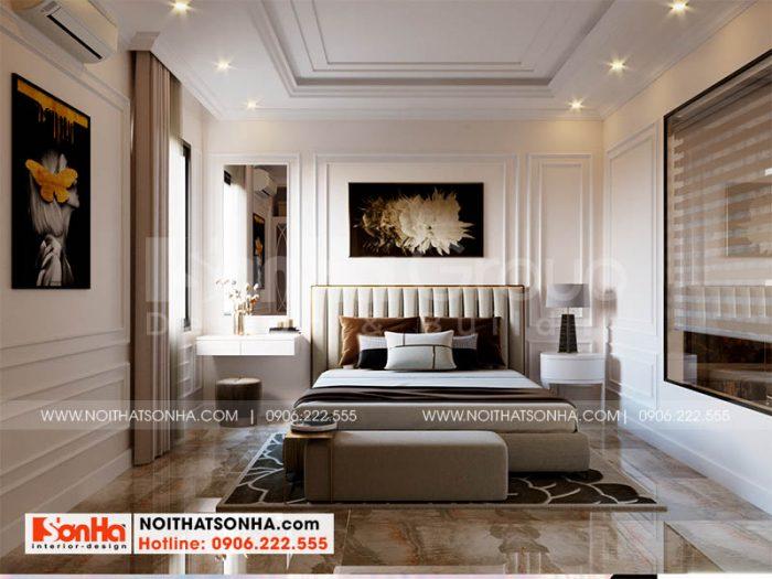 Thiết kế nội thất phòng ngủ 3 kiểu hiện đại tại Hoàng Huy Mall Hải Phòng