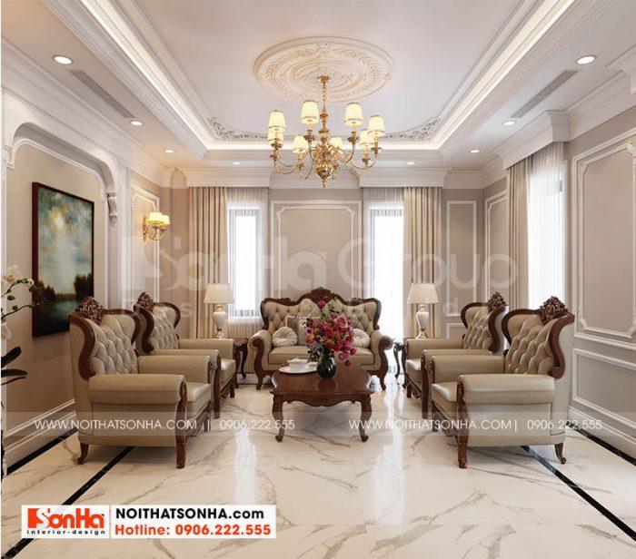 Mẫu nội thất sang trọng tại dự án Hoàng Huy Hải Phòng