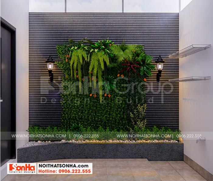 Trang trí sân ướt đẹp tại Hoàng Huy Mall Hải Phòng