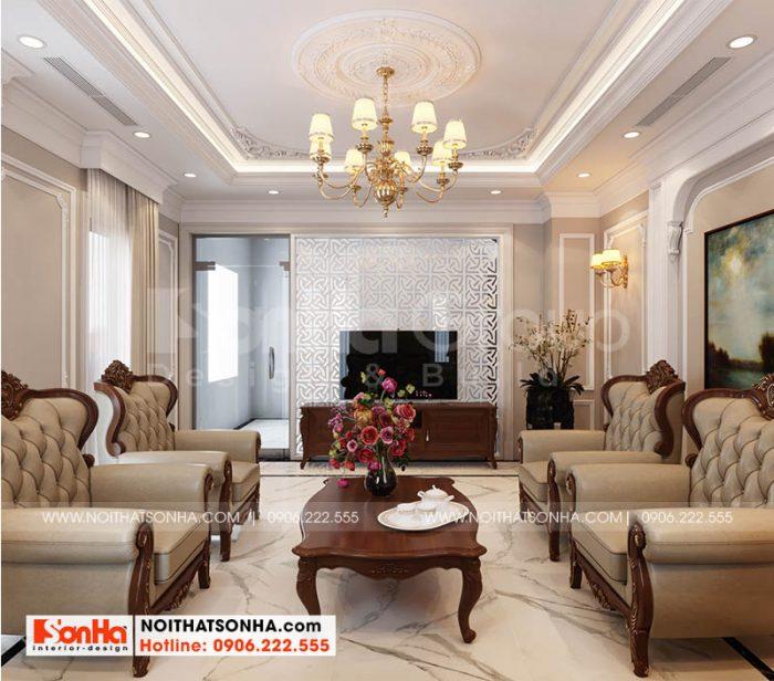 Không gian nội thất sang trọng quý phái tại Hoàng Huy
