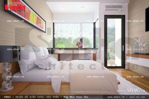 Phòng ngủ nhà ống đẹp và trẻ trung