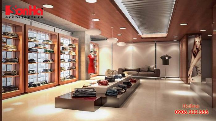 Không gian showroom sẽ góp phần tôn lên giá trị và tính chất của sản phẩm