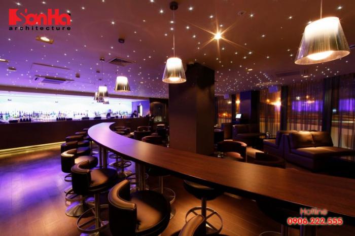 Thiết kế nội thất quán bar cafe đẹp, độc đáo và vô cùng tinh tế