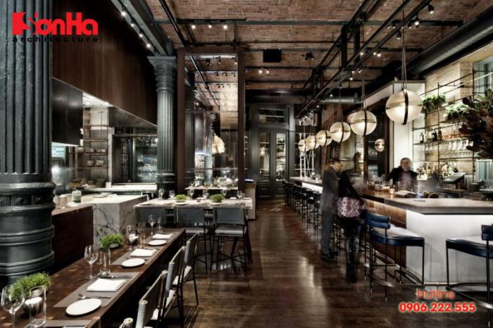 Thiết kế nội thất nhà hàng bạn cần thiết phải được xác định rõ phong cách