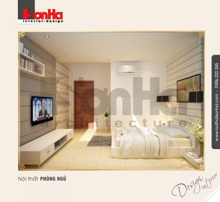 3.Thiết kế nội thất phòng ngủ hiện đại tại hải dương NT BTD 0009