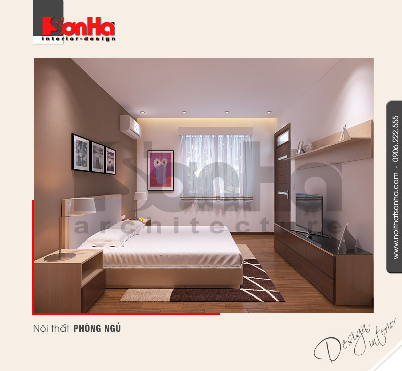 8.Mẫu nội thất phòng ngủ hiện đại tại hải phòng NT NOD 0085