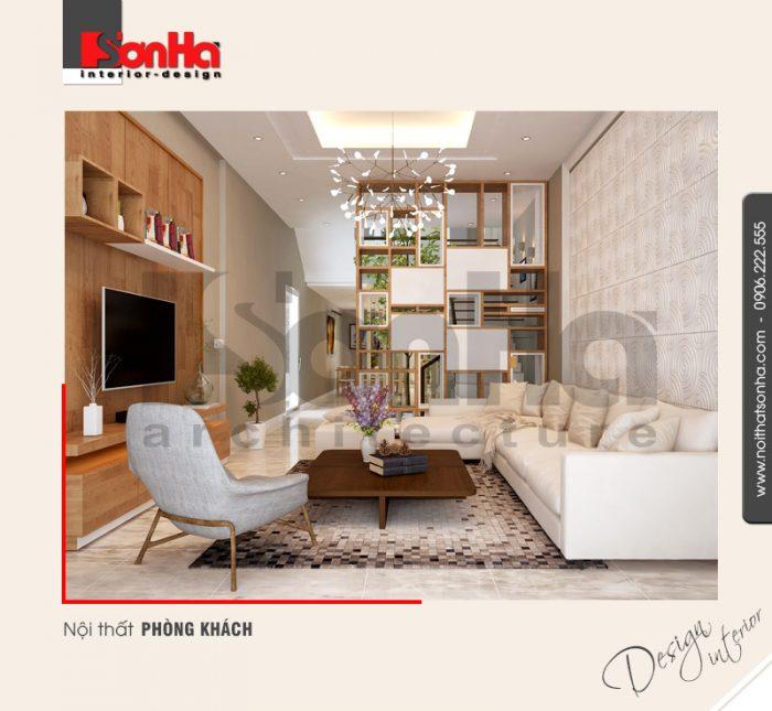 1.Thiết kế nội thất phòng khách đơn giản đẹp