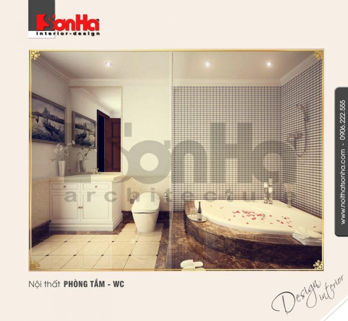 13.Thiết kế nội thất phòng tắm wc sang trọng