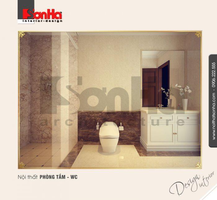 14.Mẫu nội thất phòng tắm wc thiết kế hợp lý
