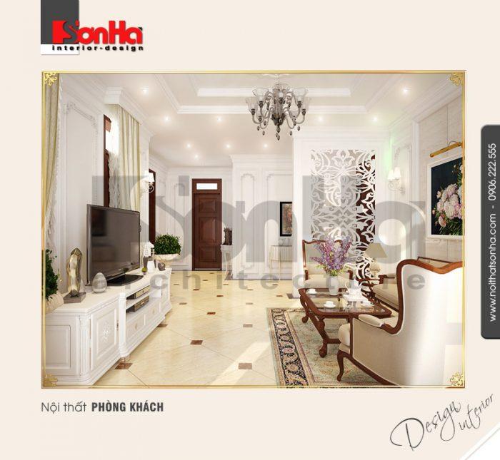 3.Thiết kế nội thất phòng khách đẹp