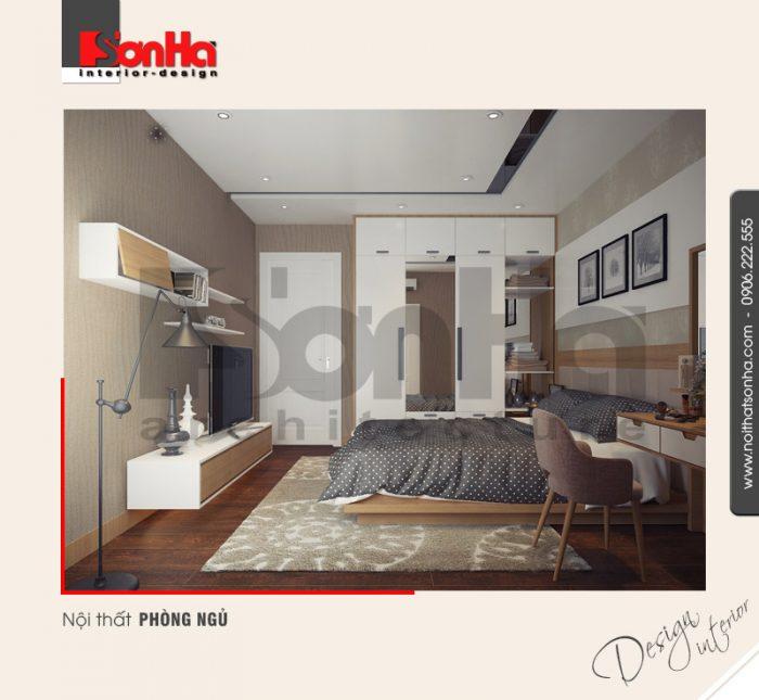 3.Thiết kế nội thất phòng ngủ hiện đại đơn giản