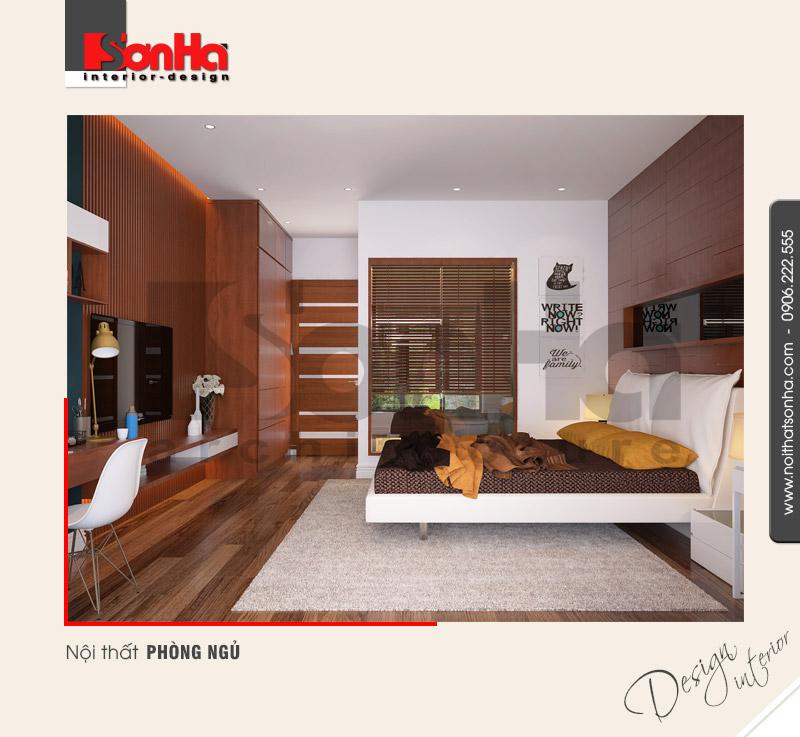 5.Thiết kế nội thất phòng ngủ hiện đại tại hải phòng NT BTD 0036