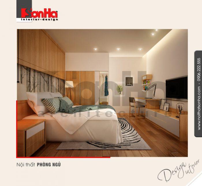 7.Thiết kế nội thất phòng ngủ hiện đại tại hải phòng NT BTD 0039
