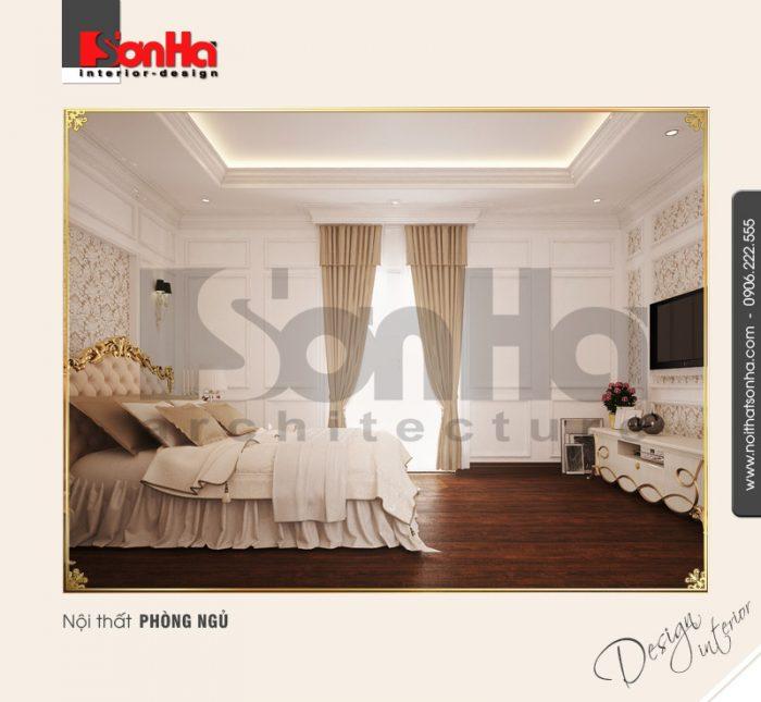 7.Thiết kế nội thất phòng ngủ sang trọng