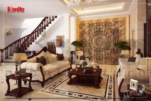 BIA Nội thất biệt thự tân cổ điển cao cấp vạn người mê tại Hà Nội NT BTP 0030