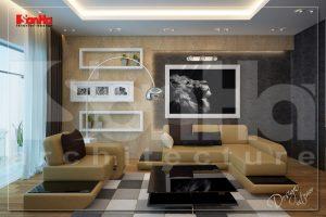 BIA Tư vấn thiết kế nội thất nhà ống hiện đại tại quận Ngô Quyền Hải Phòng NT NOD 0123