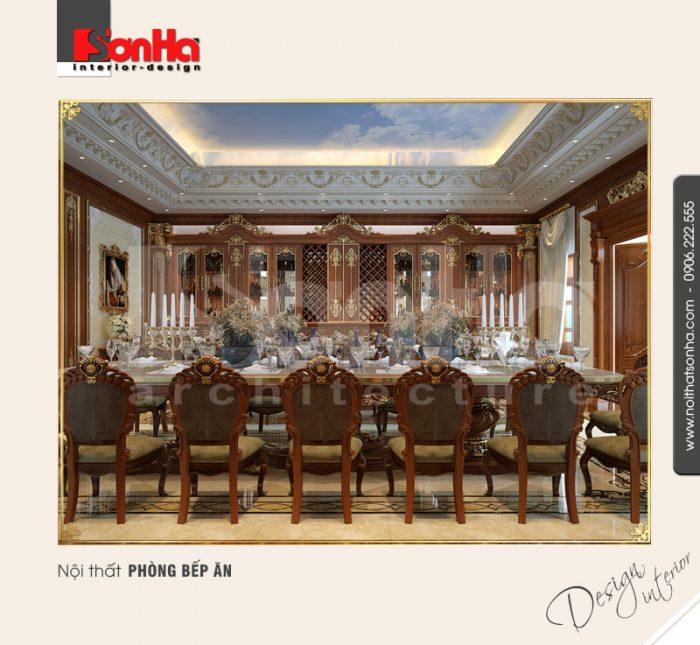 3.Thiết kế nội thất phòng bếp ăn đẹp