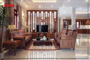 BIA Thiết kế nội thất cổ điển pháp cho biệt thự tại Đông Triều Quảng Ninh NT BTP 0061