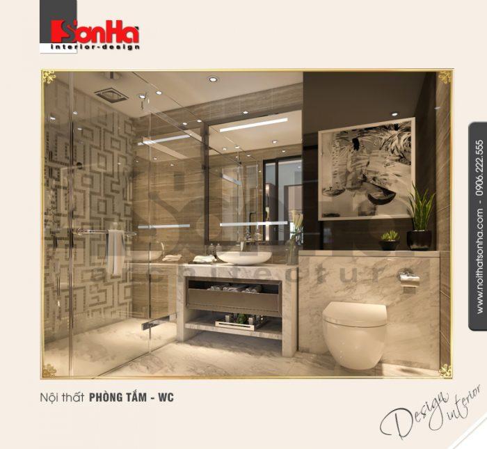 15 Thiết kế nội thất phòng tắm wc biệt thự khu đô thị vinhomes hải phòng
