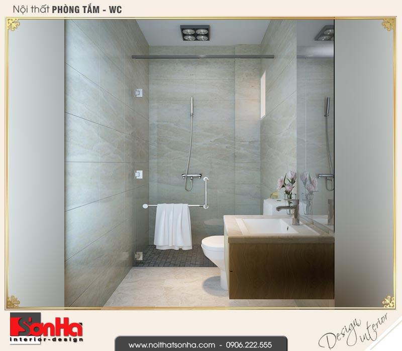 15 Thiết kế nội thất phòng tắm wc biệt thự liền kề khu đô thị ven sông lạch tray hải phòng wfc 001