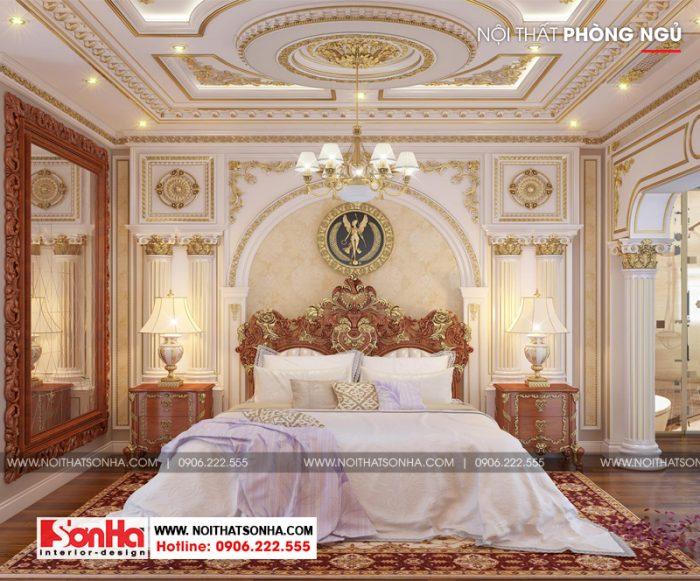 4 Mẫu nội thất phòng ngủ giám đốc tân cổ điển tại sài gòn sh btp 0131